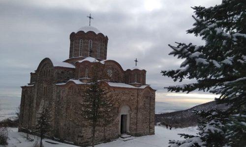 """Le monastère serbe """"Matejče"""" a été une base militaire des terroristes albanais"""