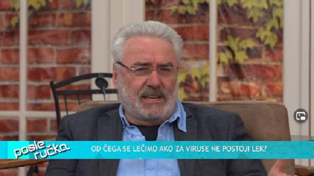 """(VIDEO) Dr.Nestorovrić: """"Test je često lažno pozitivan…Zaboravili smo da živimo zbog virusa""""."""