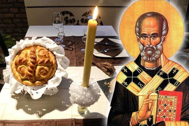 """Demain, c'est la """"SLAVA"""" chez les Serbes – La moitié des Serbes célèbrent """"Saint-Nicolas"""""""