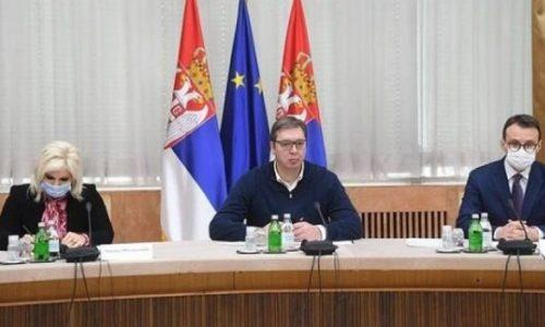 Le président serbe avec les représentants des Serbes du Kosovo et Métochie. Les conclusions dans les 72 heures à venir