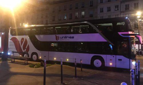 Autobus Unilines iz Srbije stigao u Pariz. Na ulasku u Francusku PCR test?