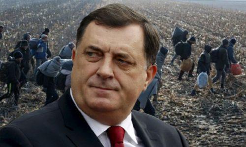 Il n'y aura pas de centres pour migrants en Republika Srpska a décidé Dodik