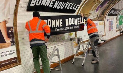 """Pariz: RATP """"presvukao"""" metro stanicu Bonne Nouvelle kako bi se oprostio od 2020. godine!"""