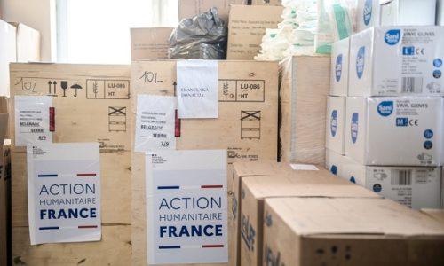 (FOTO) Francuska vlada donirala medicinsku opremu Srbiji