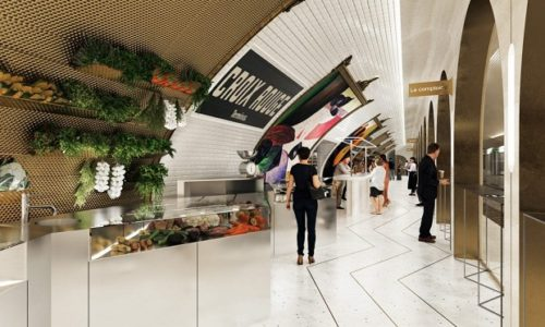(FOTO)Pariz: Metro stanica transormisana u restoran i koktel bar
