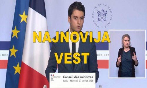 FRANCUSKA: PORTPAROL VLADE NAJAVIO NAJGORI MOGUĆI SCENARIO
