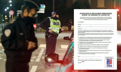 Francuska: Ove potvrde su vam neophodne u slučaju da se nađete na ulici posle 18h