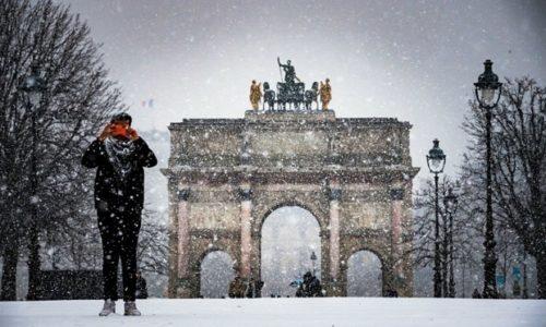 Pripremite se. Sneg sutra u Parizu i okolini