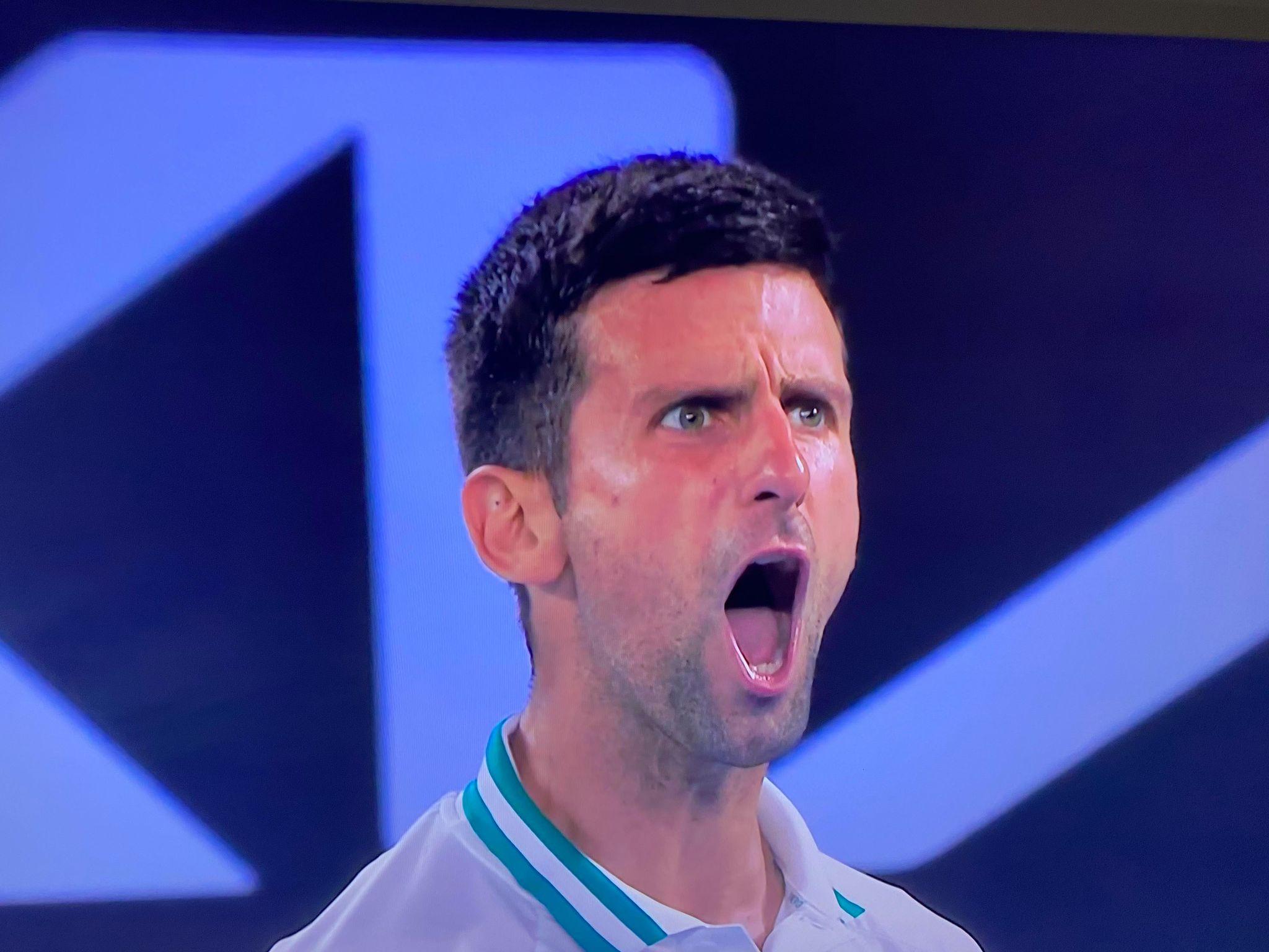 Novak Djokovic s'est qualifié pour la finale d'AO
