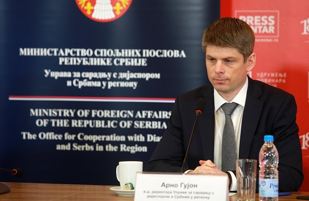 Arno Gujon će predstavljati Srbe iz dijaspore i regiona u skupštini Srbije