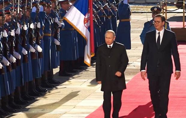 Poutine a félicité la fête nationale serbe